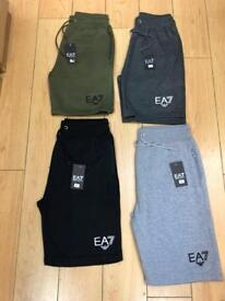 Men's EA7 Ralph Lauren GK, Boss shorts for sale