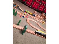 Brio train and road set