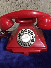 Iconic red telephone