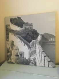 Great Wall of China canvas
