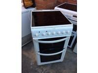 Ceramic top electric cooker