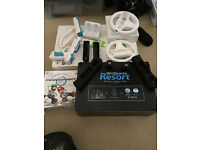 Wii Console Sports Resort (Black) includes Games Wii Fit Board and Extra's