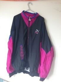 Puma jacket immaculate condition size large