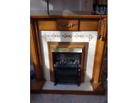 For sale traditional electric fireplace