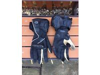 Knox Long Summer Motorcycle gloves. Size XXL.