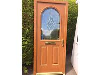 Oak composite door brand new