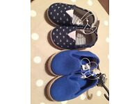 Size 2 boys shoes - new with tags