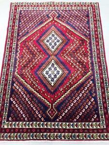 Persian Handmade Rug, Tribal Rug, Wool Rug (Free Shipping)