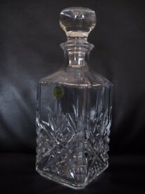 New boxed Cristal d'Arques Lead Crystal Decanter