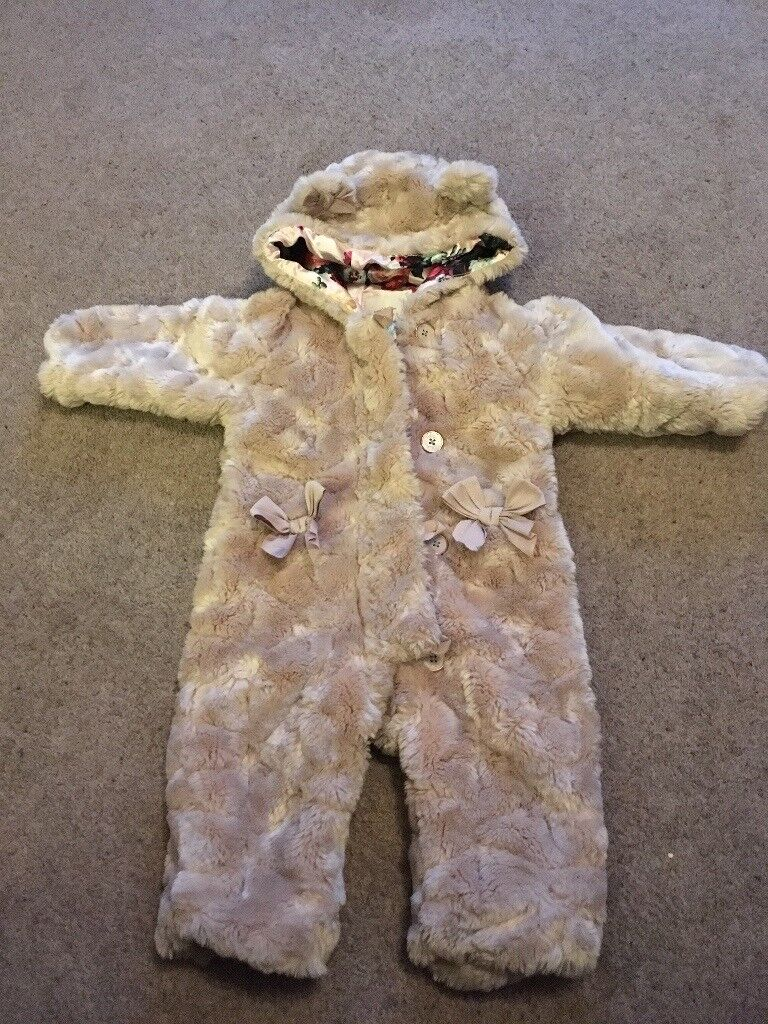 ff3d96e9935a Ted Baker baby girl snow suit 9-12 month