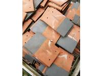 Reclaimed Marley Roof Tiles.