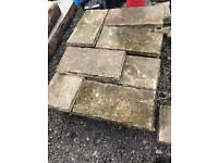 PATIO SLABS (BUFF COLOUR)