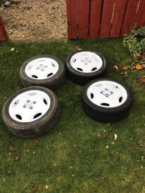 "Vauxhall cavalier cav slabs alloy wheels 15"" 4x100 nova Corsa"