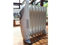Mini Electric Oil Filled Radiator 800 watt