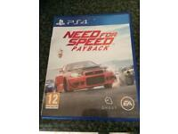 As new PS4 game need for speed payback