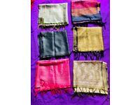 Ladies Silk scarfs