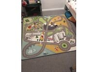 Children's town rug