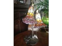 Tiffany style lily pad table lamp