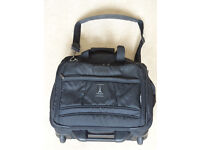 Crew 5 Travelpro bag with wheels
