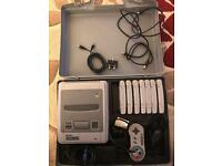 Super Nintendo SNES and games