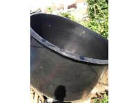 Large holding tank or pond