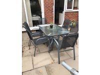 Garden patio set with six chairs only £60!!