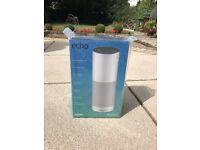 Amazon Echo, White - Brand New Sealed