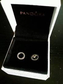 Brand New Pandora Earrings