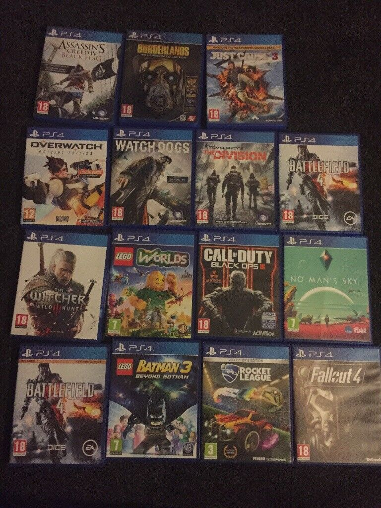 (Please read description) Looking to swap my PS4 games for Xbox one games.