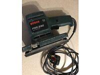 Bosh PSS 230 Sander 150w 230v used