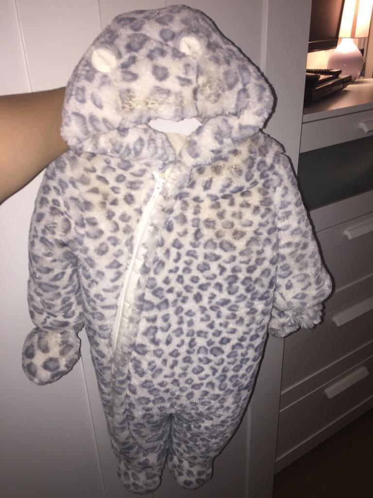 Mothercare snowsuit (worn once)