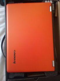 "Lenovo Yoga 3 14"" Touchscreen(500GB,Intel Core i5 5200U,2.7GHz,4GB,Win8, Orange"