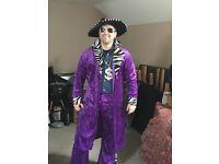 Fancy dress Pimp/Gangsta complete outfit