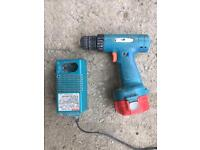 Makita drill battery and charger