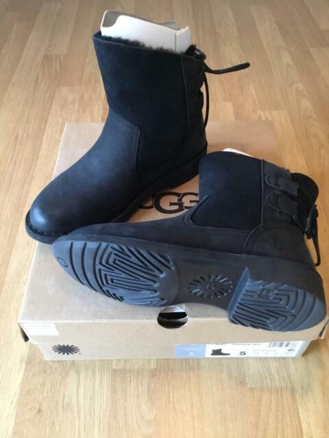 fe4e12a1364 Brand new boxed Genuine UGG Boots Naiyah black suede women/girls 3.5 UK / 5  USA / 36 EU 1019164 | in York, North Yorkshire | Gumtree