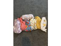 Baby girl 0-3 months next baby grows