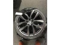 """Tesla 21"""" Aracnid Alloy wheel set"""