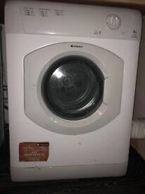 Tumble Dryer Hotpoint 6kg TVM560 Aquarius
