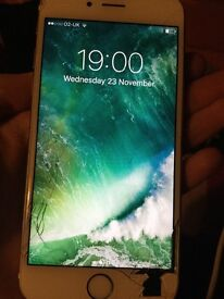 iPhone 6S - Year old, Cracked Screen