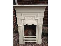 Original Cast Iron Fireplace