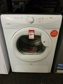 Brand New Hoover VTC5911NB - 9kg Condensor Tumble Dryer, White
