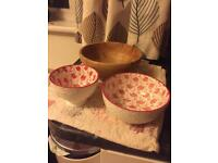 Flamingos Mug, cup and bowl