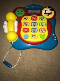 Disney Mickey Mouse Learning Telephone