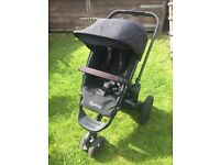 Quinny Buzz Limited Edition Black Frame Travel System with Maxi Cosi Cabriofix Car Seat