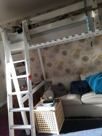 Ikea Stora double loft bed less than 1 year old