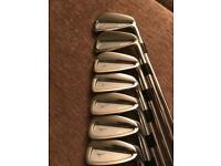 Selection of golf clubs for sale