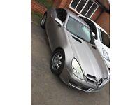 Mercedes benz 1.8 SLK Kompressor sport 2door convertible and hard top part exchange welcome