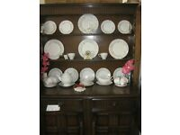 STURDY 'ERCOL' WELSH DRESSER. TOP DETACHABLE FROM BASE