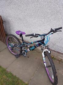 Apollo craze Age 8/12 year old girls bike