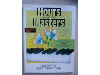 Piano music: Hours with the Masters - Book 5, Grade 6. Useful supplementary practice pieces.